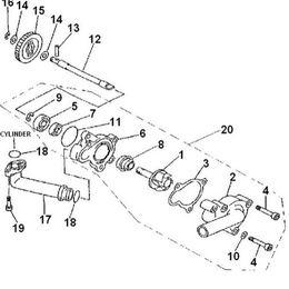 Linhai 260 Fuel System, Linhai, Free Engine Image For User