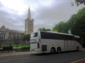 Outside St Patrick's Cathedral