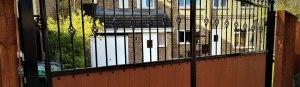 Wooden Clad Gate