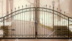Large Driveway Gates