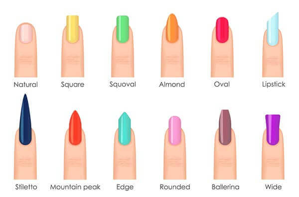 The Diffe Acrylic Nail Shapes