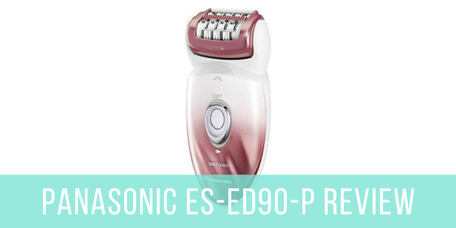 Panasonic ES-ED90-P Wet And Dry Epilator Review