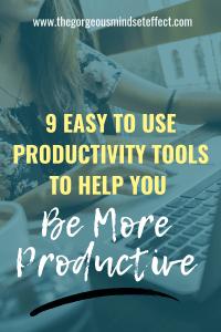 9 Easy to Use Productivity Tools