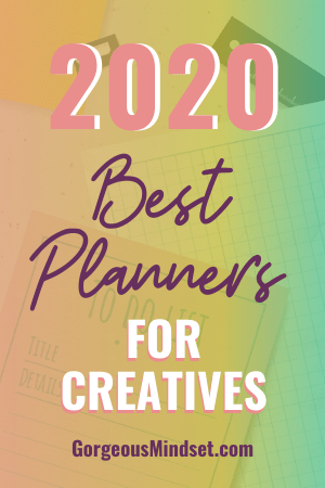 Best Daily Planners for Creatives in 2020
