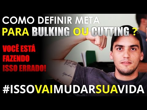 META INTELIGENTE PARA BULKING e CUTTING!