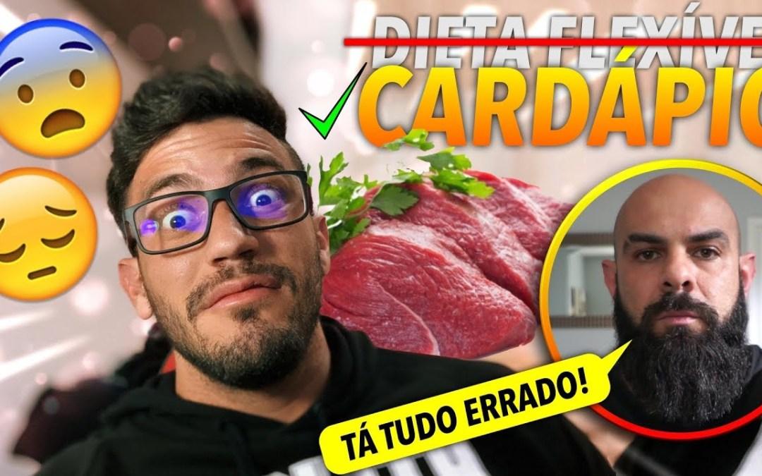 DIETA FLEXÍVEL NUNCA MAIS! Coach Rubens F#DEU minha DIETA!