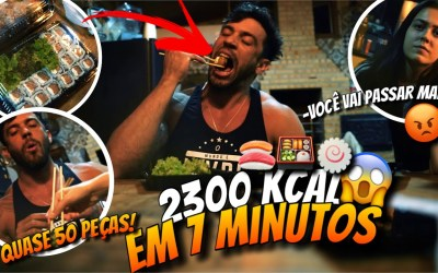 2300 KCAL EM 7 MINUTOS | Refeição livre em tempo recorde