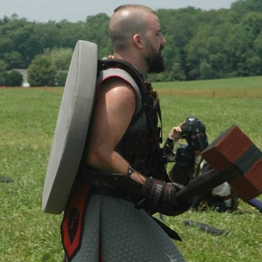 XL Round Strap BACK Shield