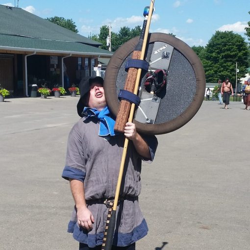 Large Round 3-N-1 Shield