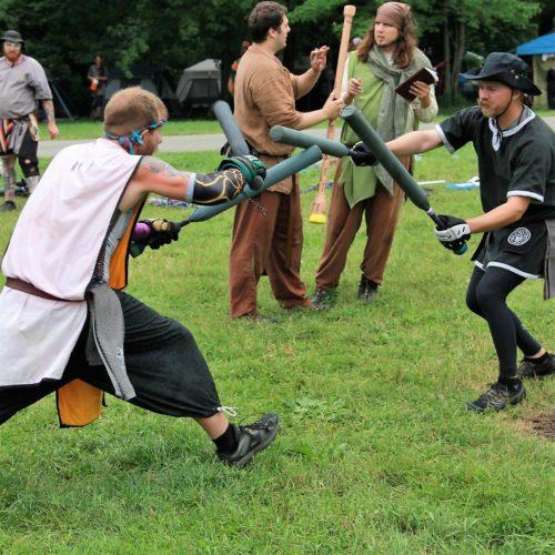 SECRET BAT xander vs cailte sparring florentine 4x secret bats knights trial