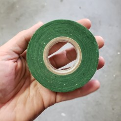green cloth tape