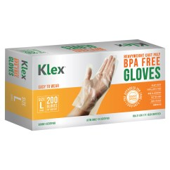 Kitchen Gloves Wenge Wood Cabinets 1000 Heavyweight Cast Poly Disposable Large Bpa Free Food Grade