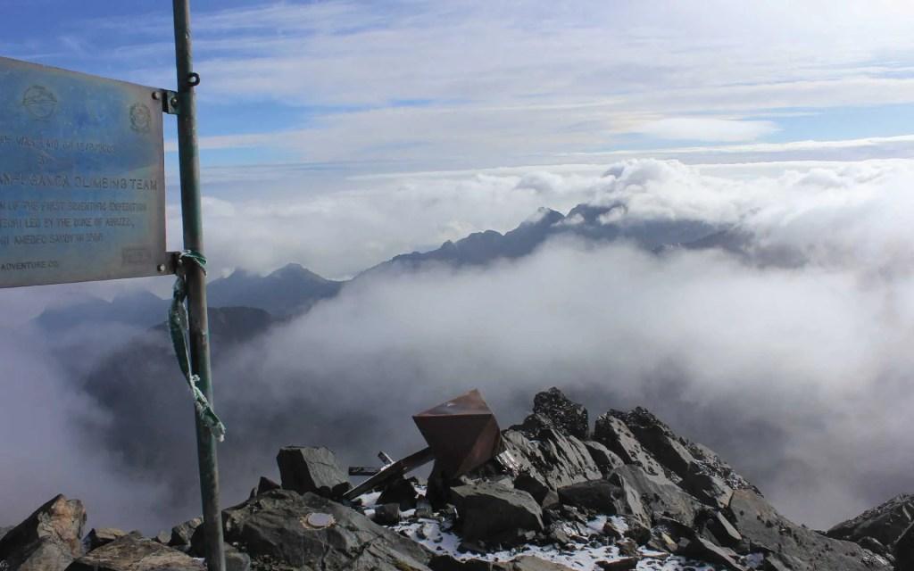 Rwenzori Mountains Peak