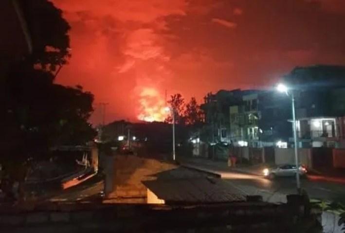 Mount Nyiragongo Volcano Eruption 2021