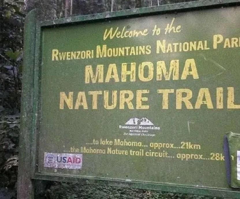 Mahoma Trail in Rwenzori Mountains