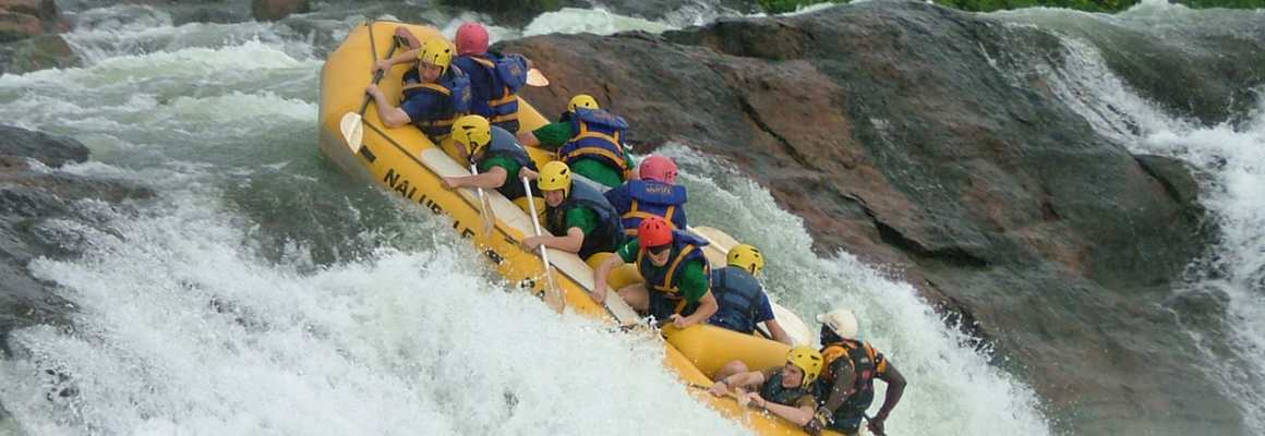 Whitewater rafting adventure safaris