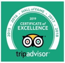 Gorillas and Wildlfe Safaris Hall of Fame Trip Advisor Recommended