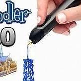 3Doodler 3D Printing Pen 2.0 & Nozzle Starter Kit