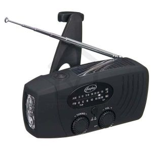 Freeplay Companion WindUp Solar Radio & Torch