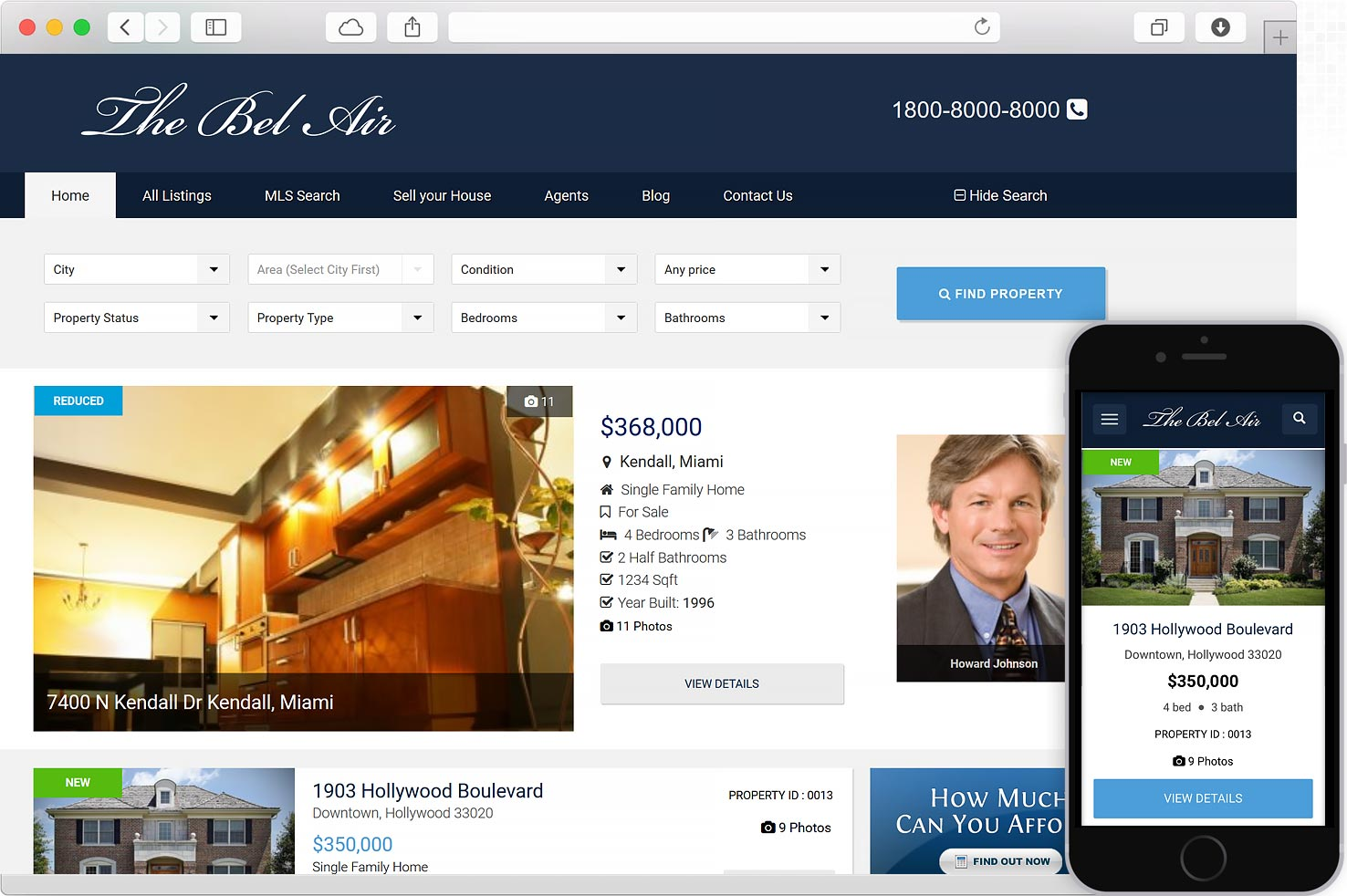 WordPress real Estate MLS IDX