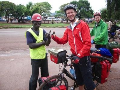 Leading activities in Jinja