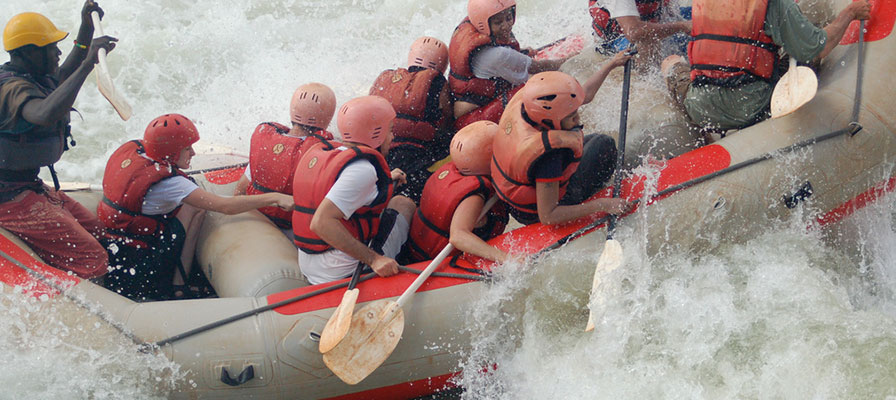 Nile White Water Rafting