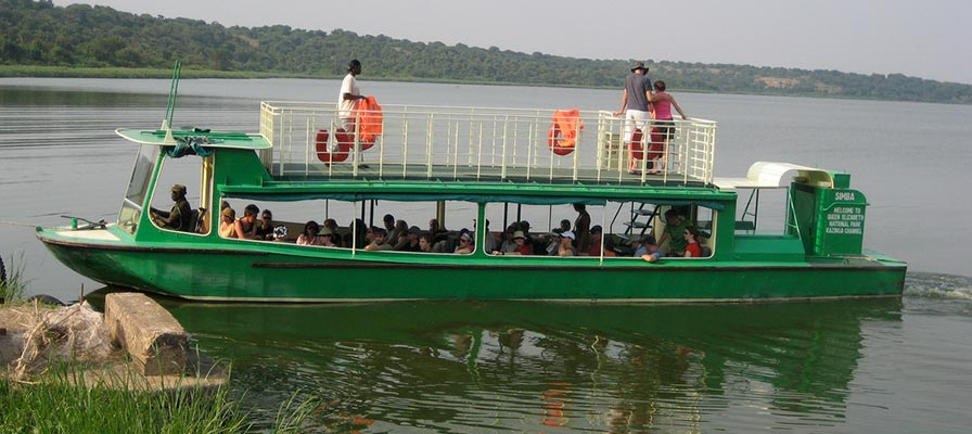 queen elizabeth national park boat safari