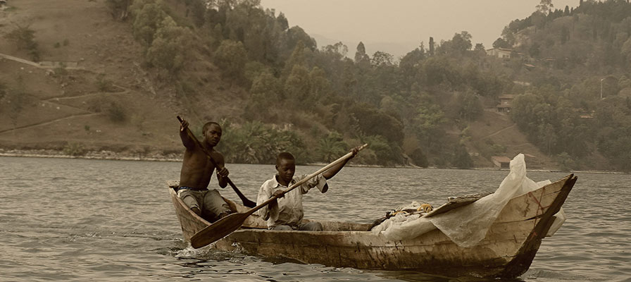 boat ride on Ihema Lake