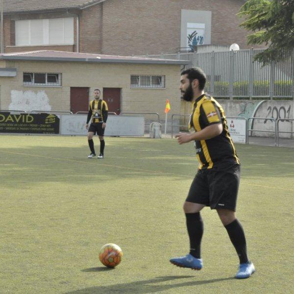 Foto del Man of the Match Raúl Andrés Cuesta