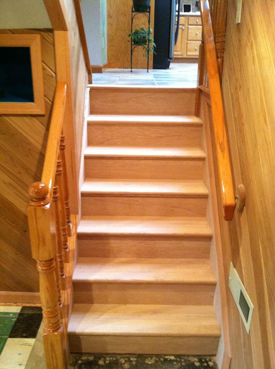 Stair and Rail System Installation  Gorsegner Brothers