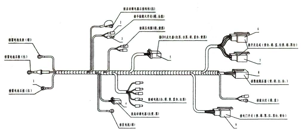 Wiring Diagram For 50cc Quad