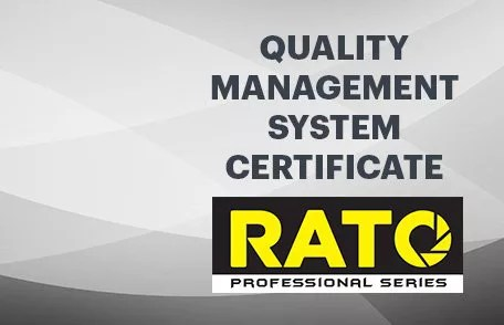 Rato Quality Management Certificate