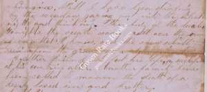 5 Civil War Letters - 1862 - 1864
