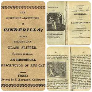 The Adventures of Cinderilla or the History of a Glass Slipper - 1820