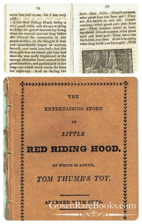 The Entertaining Story of Little Red Riding Hood