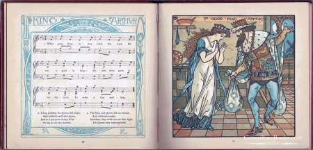 Walter Crane - The Baby's Opera - First edition - 1877