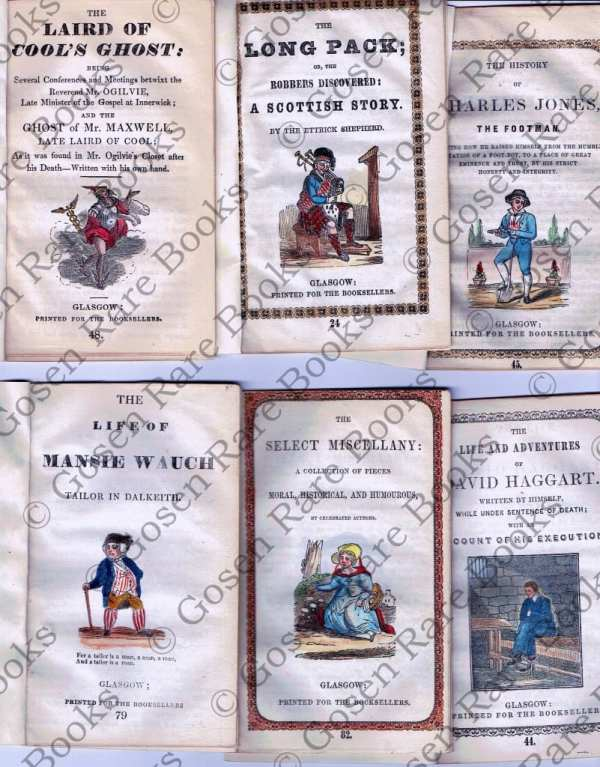 Ten Nineteenth Century English and Irish Chap Books