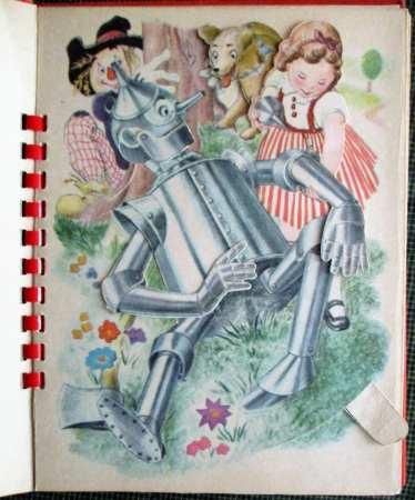 Tin Man mechanical illustration.