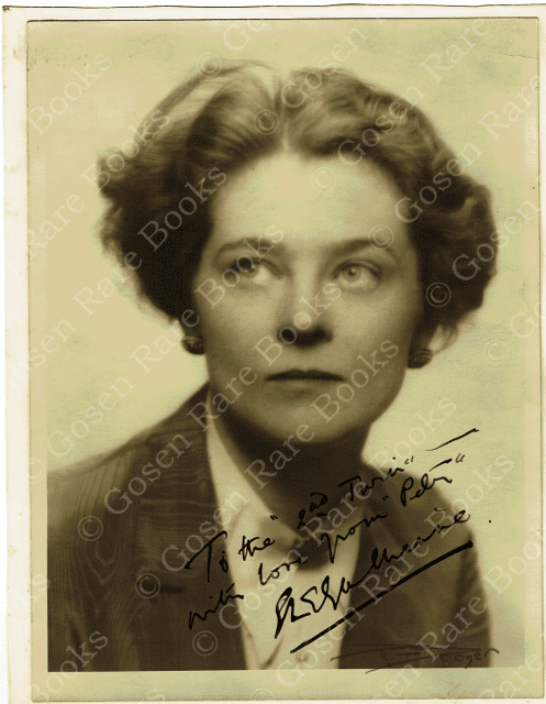 Signed and Inscribed Photograph of Eva Le Gallienne 1928