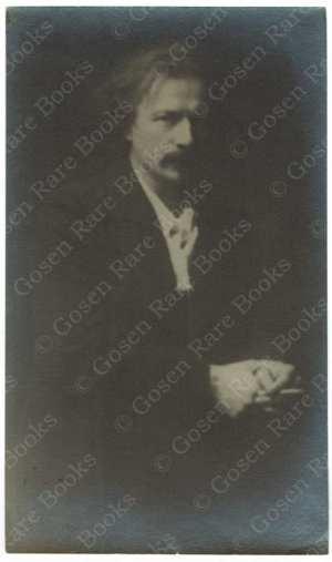 Arnold Genthe Portrait of Paderewski