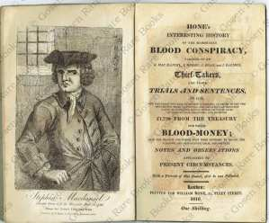 George Cruikshank Hone's Interesting History of the Memorable Blood Conspiracy 1816