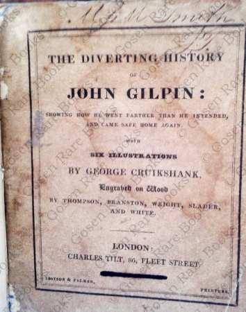 George Cruikshank | Cowper's The Diverting History of John Gilpin 1828