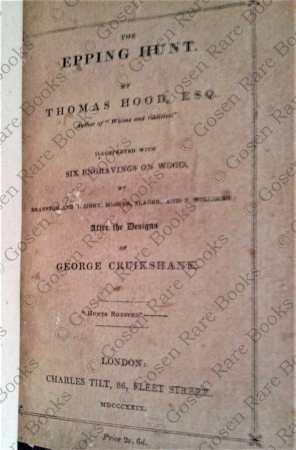 Cruikshank   The Epping Hunt by Thomas Hood, Esq   1829