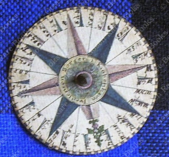 Magnetic Navigational Compass from Iver Jensen Borger