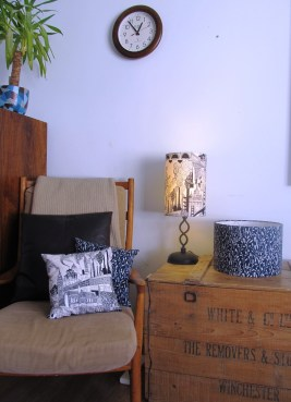 City v Country' lampshades and cushions