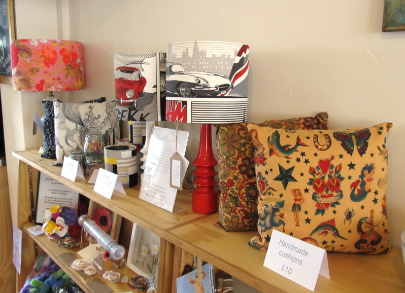 Buy lampshades in Plymouth at Devonport Live Cafe