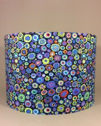 Bespoke lampshade in 'Paperweight' fabric - Gosh and ...