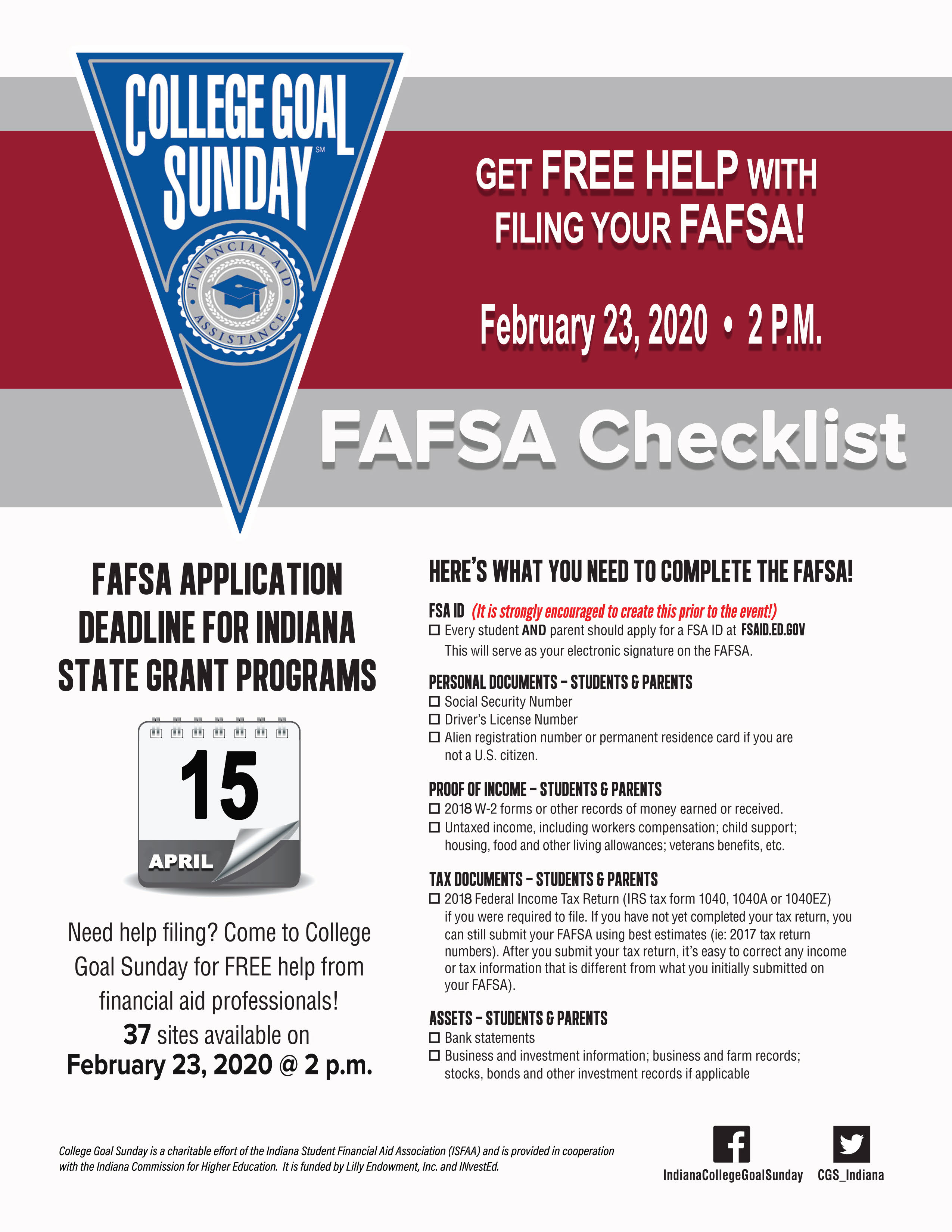 Free Fafsa Help Available During College Goal Sunday Feb