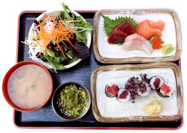 Sashimi &Roll -$20