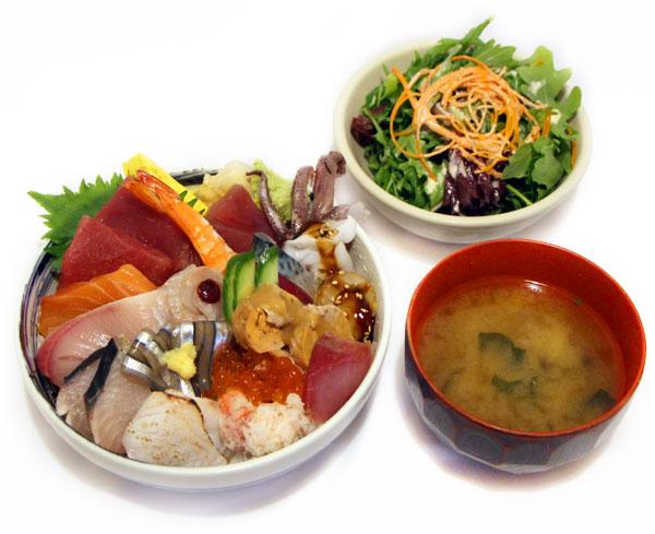 Chirashi Sushi -$30